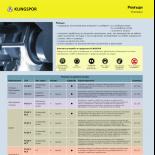 PDF Каталог - Ремъци за полиране и шлайфане Klingspor